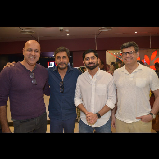 Adnan Siddiqui with Friends