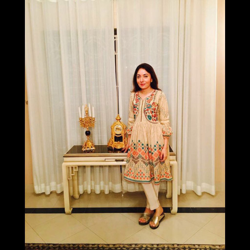 The beautiful Sharmila Faraqui spotted wearing LSM