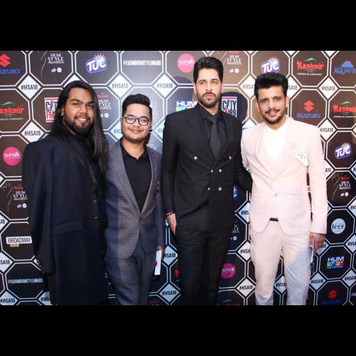Ryan Thomas, Fahad, Waleed Siddiqui and Deepak