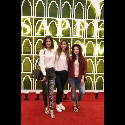 Aden Rehan, Rabia Butt and Sarah Gandapur