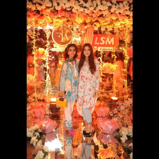 Shireen Rehman and Zainab Malik