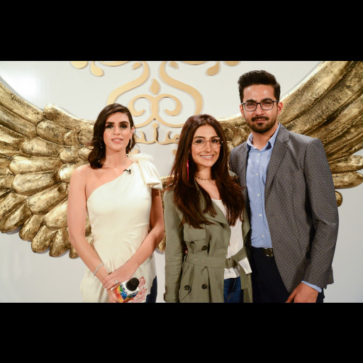Ali Safina and Hira Tareen with Anusheh