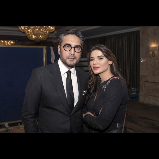 Adnan Siddiqui and Neha Ahmed