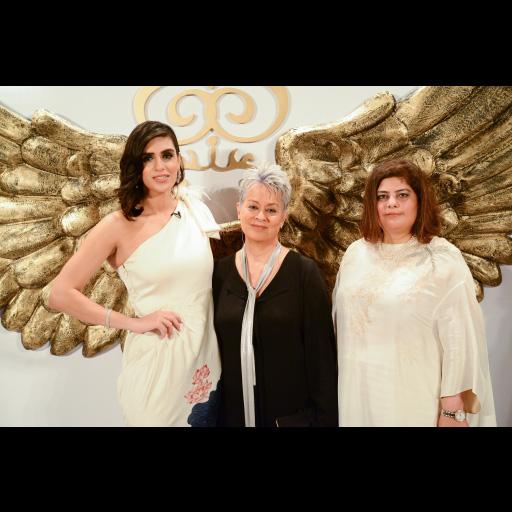 Anusheh Shahid, Maheen Khan and Amna Ali