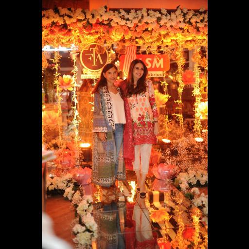 Yasmeen Khan and Aamna Taseer