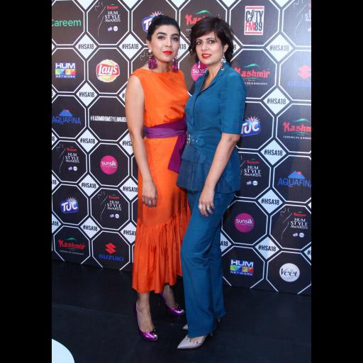 Sadaf Zarrar and Amna Niazi