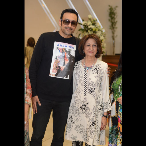 Ali Sethi and Naz Mansha
