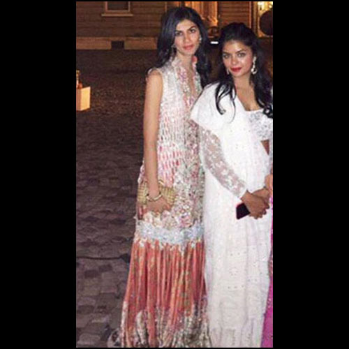 Anuskha and Aleezeh Lakhani in Nida Azwer wedding formals
