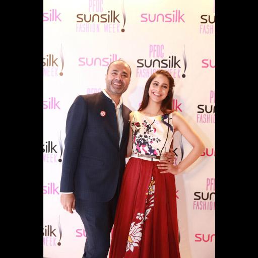 Deepak Perwani and Cybil Chowdhry