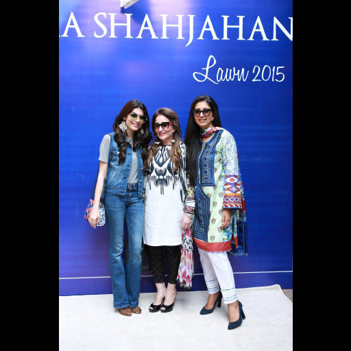 Amna Babar, Naila Ishtiaq and Zara Shahjahan