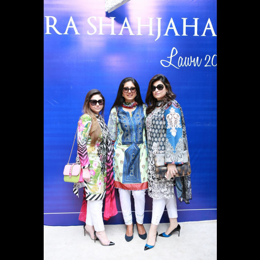 Amna Hassan Tahir, Zara Shahjahan and Shazia Deen
