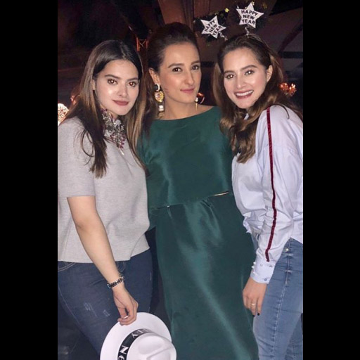 Minal Khan, Momal Sheikh and Aiman Khan