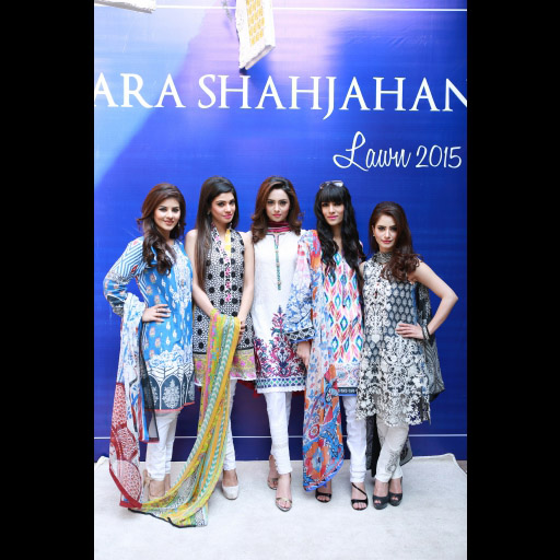 Aqsa Ali, Kanwal Ilyas, Farwa Kazmi, Fatima Ejaz and Hannah Butt