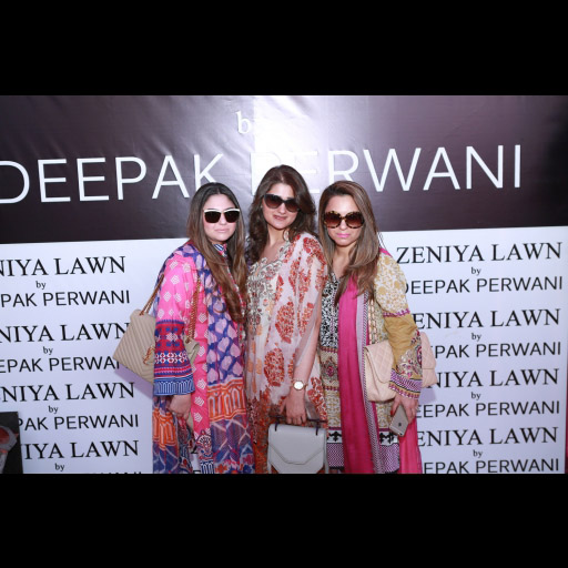 Amna Hassan, Marium Saqib and Mehwish Khan