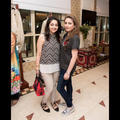 Aleena Shah and Mona Hamood