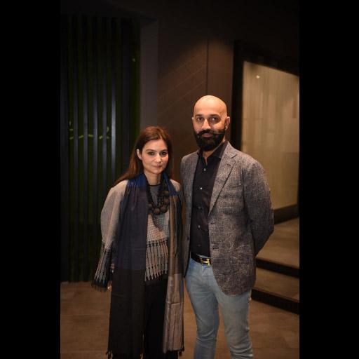 Saira Shamoon and Shamoon Sultan