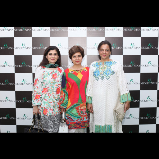 Ambreen Zafar, Asma Cheema and Huma