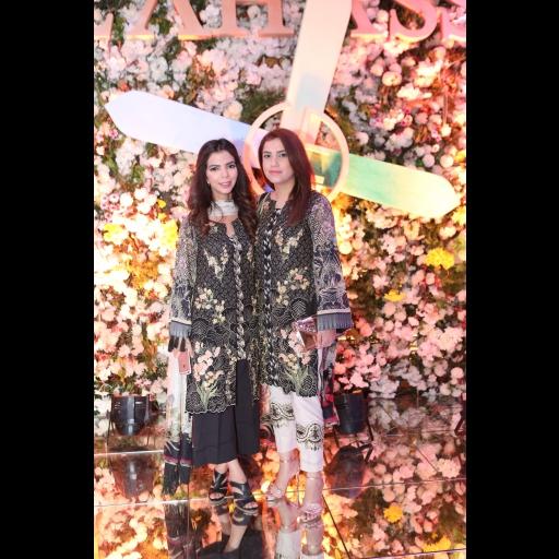 Shireen Rehman and Alina Shahid