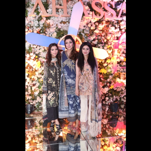 Shireen Rehman, Shiza Hassan and Chandny Mobeen
