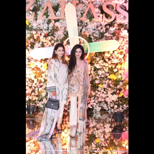 Mahrukh Manan and Chandny Mobeen
