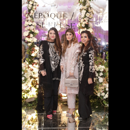 Sana Yasir, Mishal Asad and Shireen Rehman