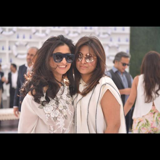 Saira and Mona