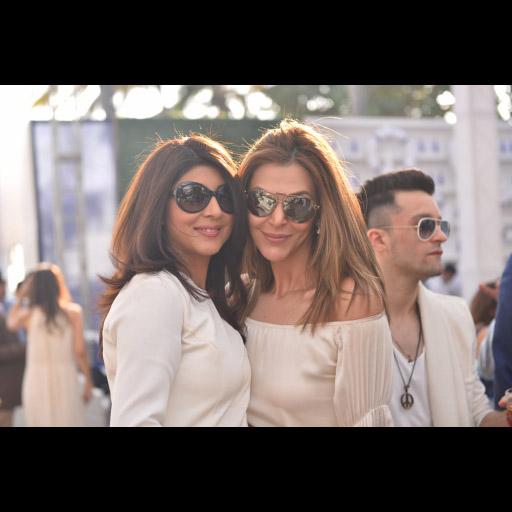 Sonya Khan and Sana Bucha