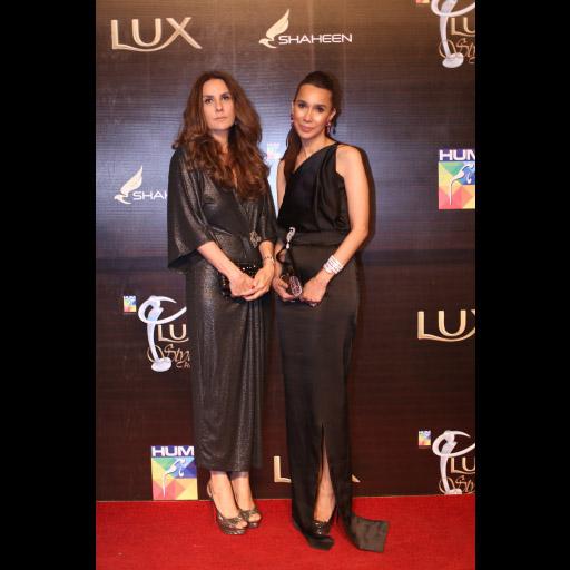 Safinaz Muneer and Sana Hashwani