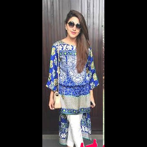 Super Fashionista Nikhar Riaz in Sana Safinaz