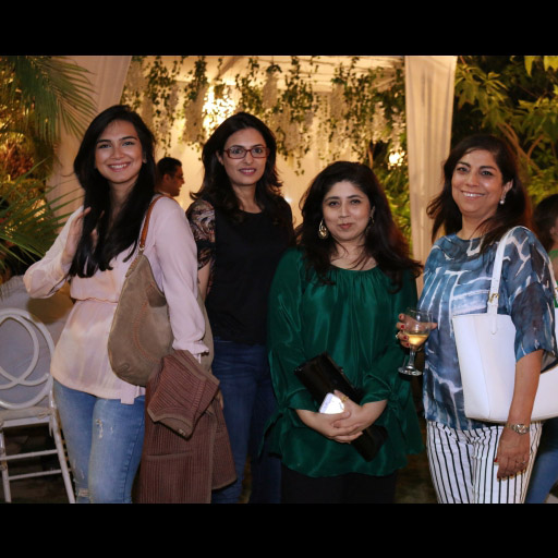 Atika, Salima, Aamna and Fareshteh