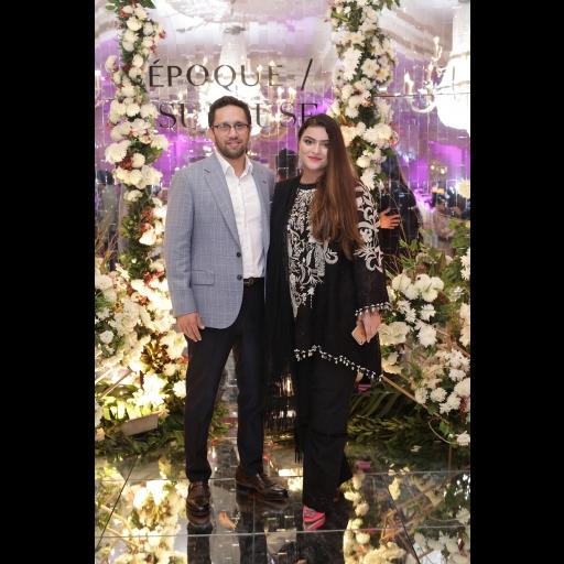 Yasir Sherazi and Sana Yasir