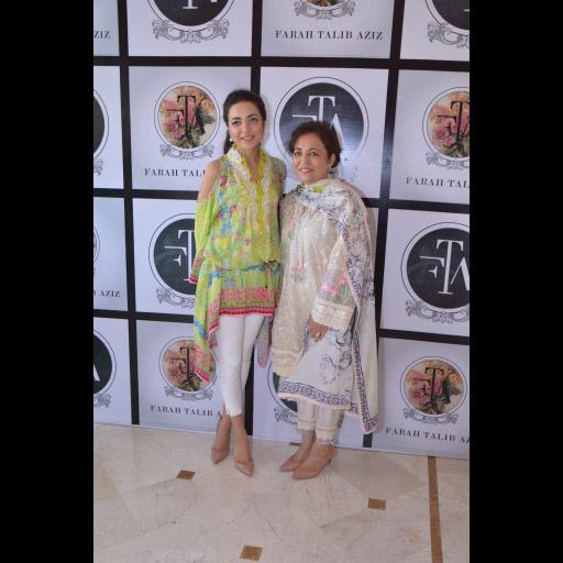 Maliha Aziz and Farah Talib Aziz