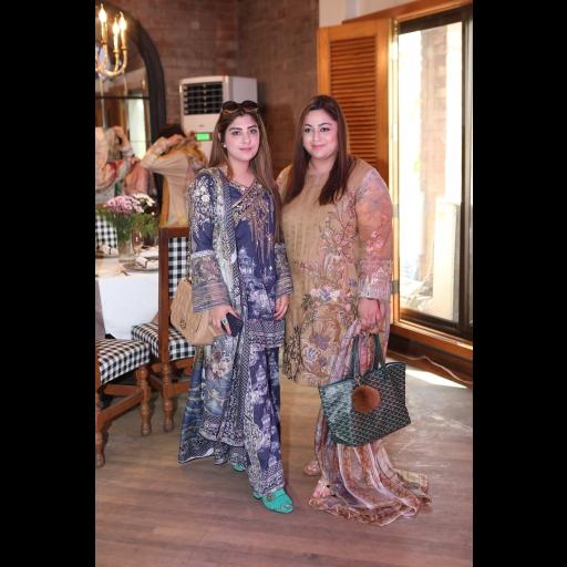 Myda Malik and Haddiya Aazer