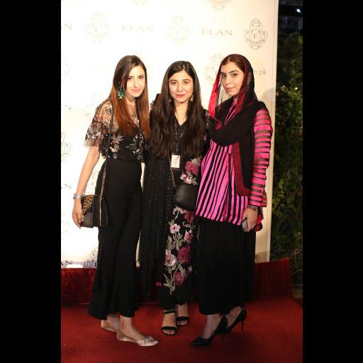 Hira Ashfaq, Myrah Adnan and Minahil