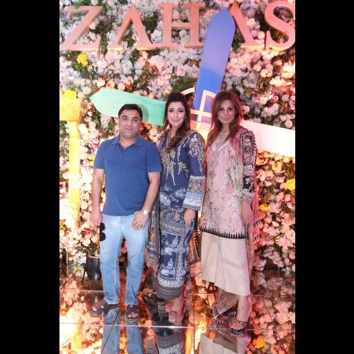Rana Noman, Shiza Hassan and Amber Liaqat