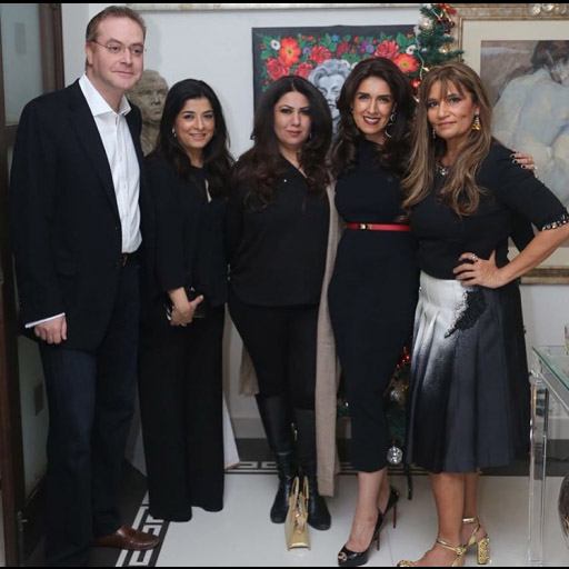 Maheen Karim, Frieha Altaf and friends