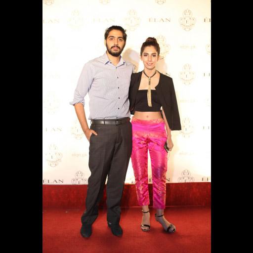 Humza Zafar and Hira Ali