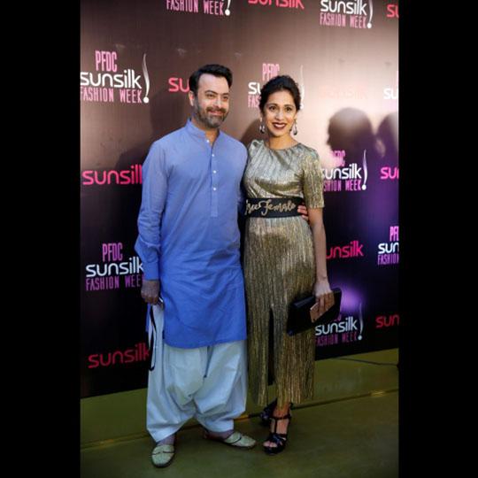 Kamiar Rokni and Momina Sibtain