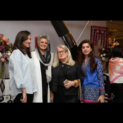 Alizeh Raza, Masarrat Misbah, Lisa and Mehek Elahi