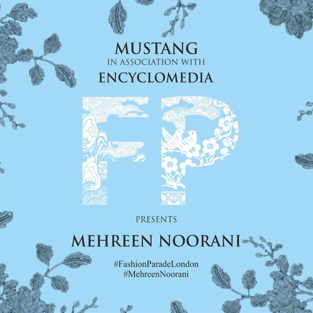 Mehreen Noorani to take part in the Fashion Parade in London on May 31st
