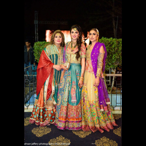 Mrs Saleem, Nimra and Wardha Saleem
