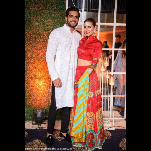 Nadia Hussain and Husband