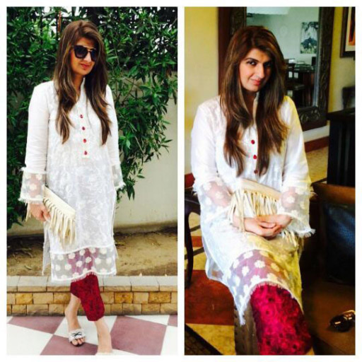 Ayesha Sohail Creative Director Ayesha Somaya in her own design