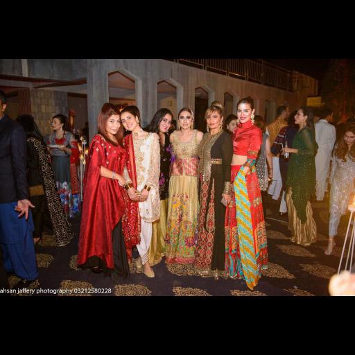 Shamaeel Ansari, Areeba Habib, Wardha Saleem, Frieha Altaf and Nadia Hussain