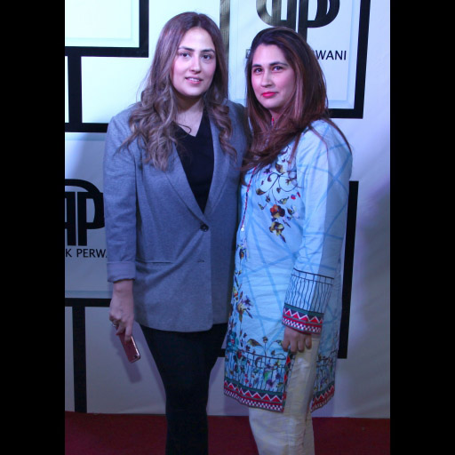 Alizeh Pasha with Sana Farooqui