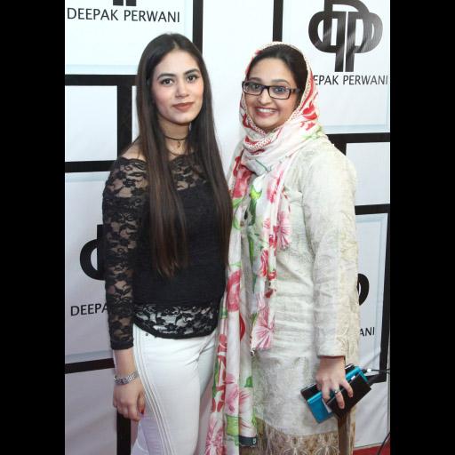 Arwa with Umme Kulsum