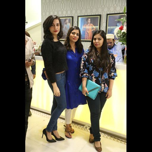 Sana Ansari, Zainab Parekh and Anusha Bawany