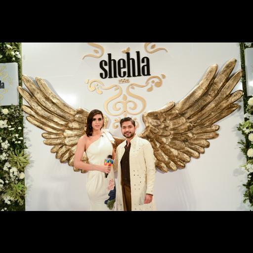 Zaheer Abbas and Anusheh Shahid