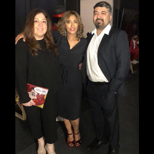 Saher Aga, Saima Rashid Bargfrede and Saad Yusuf