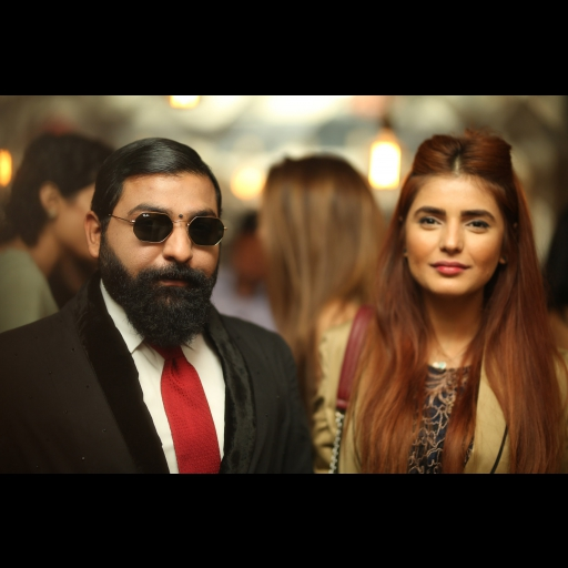 Ali Xeeshan and Momina Mustehsan
